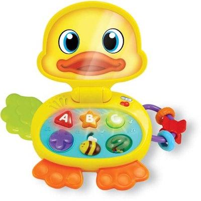 Brilliant Beginnings Flip Duck Learning Laptop