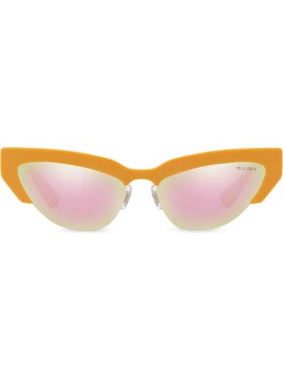 Cat-Eye Shaped Sunglasses