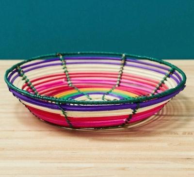 ASOS Supply Coloured Rattan Dish