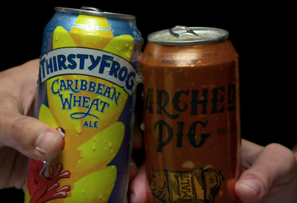 Carnival Cruise Line's New Private Label Craft Beer Cans Are Like Boozy Souvenirs