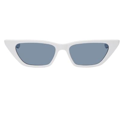 White Molly Sunglasses