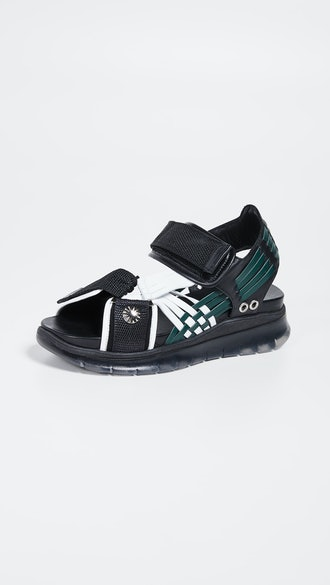 Woven Sporty Sandals
