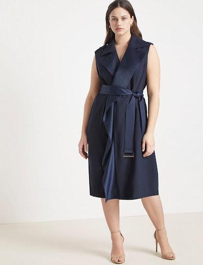 Jason Wu/ELOQUII Sleeveless Trench Dress