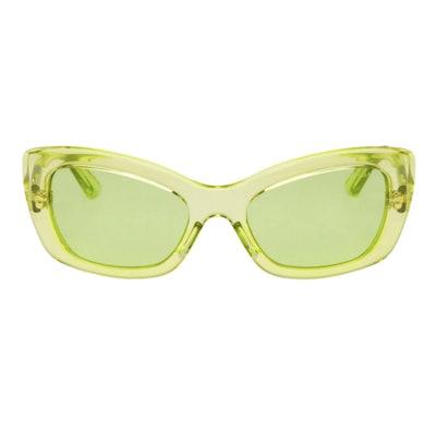Green Postcard Sunglasses