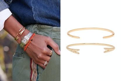 Michelle Campbell Gold Talon Bracelet Set Exclusive