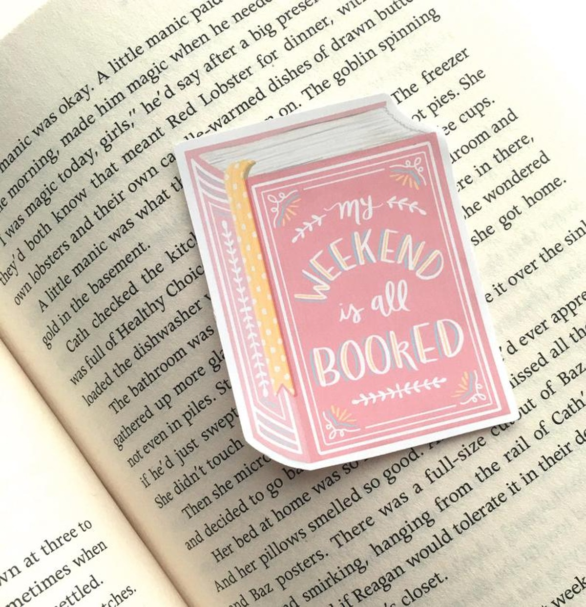 15 Bookish Laptop Stickers To Show Off Your Favorite Activity, All For $10 Or Less