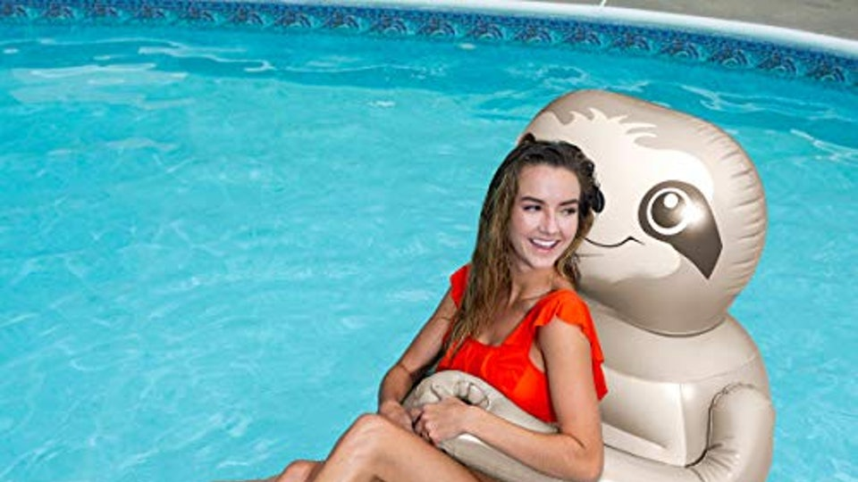 This Sloth Pool Float That Hugs You Is A Need For Your Lazy Summer