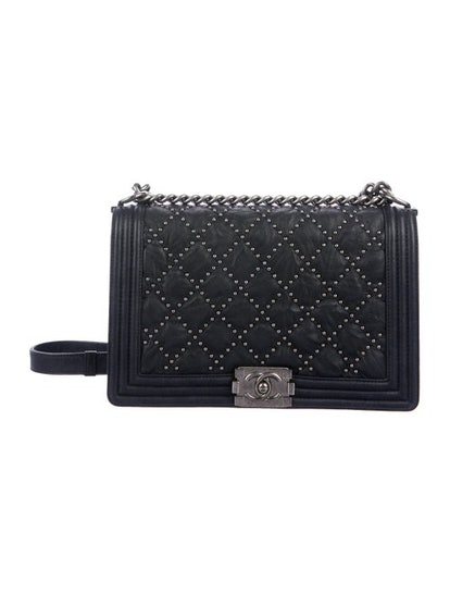 Chanel Studded Medium Plus Boy Bag