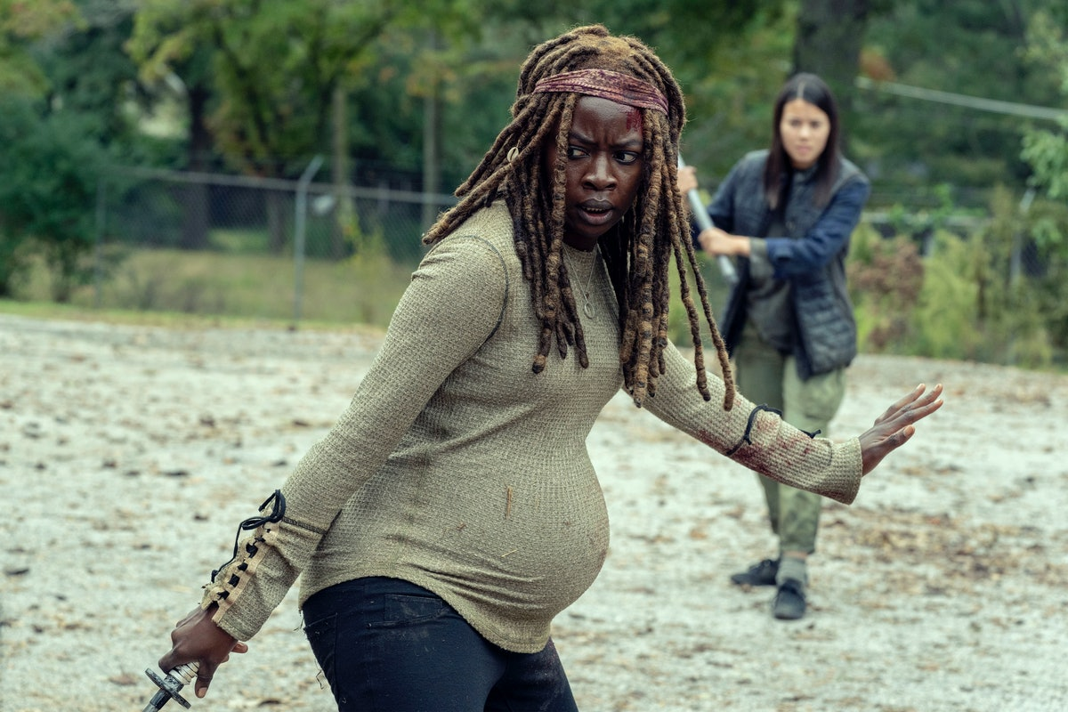 The Jocelyn Episode Of 'The Walking Dead' Only Proves How Much Michonne Has Suffered