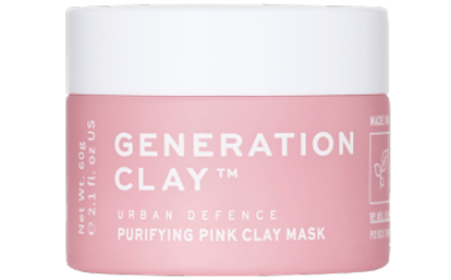 Urban Defence Purifying Pink Australian Clay Mask