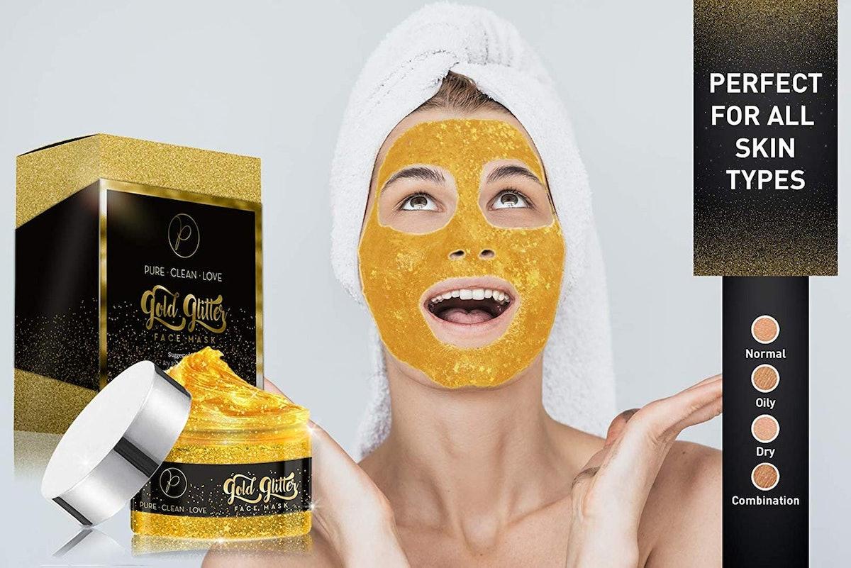 Pure Clean Love Peel Off Glitter Mask