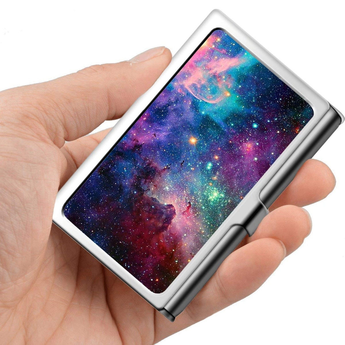 YueNew Stainless Steel Business Card Holder