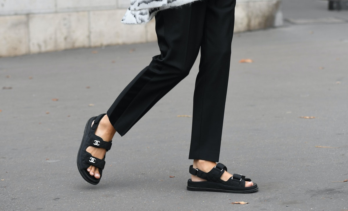 Spring's Sport Sandals Trend Isn't Just For Tourists, Every Trendsetter Is Trying It Too