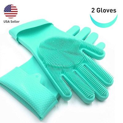 SolidScrub Silicone Scrubbing Gloves