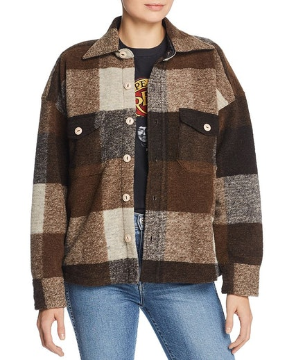 Bobbi Plaid Flannel Jacket