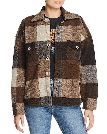 Bobbi Plaid Flannel Jacket