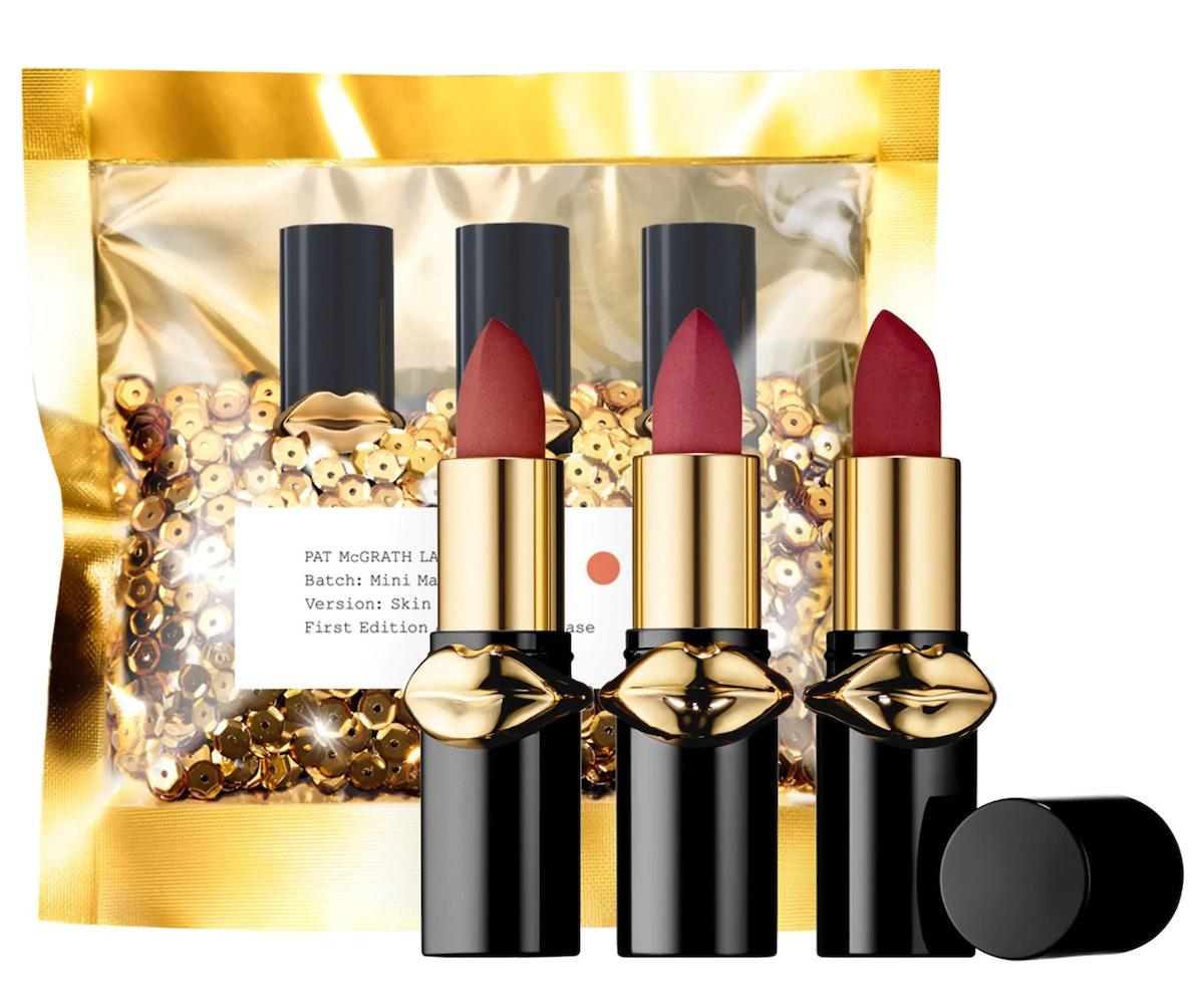 Pat McGrath's Mini MatteTrance Lipstick Trio Lets You Buy Three Lipsticks For Less Than The Price Of One