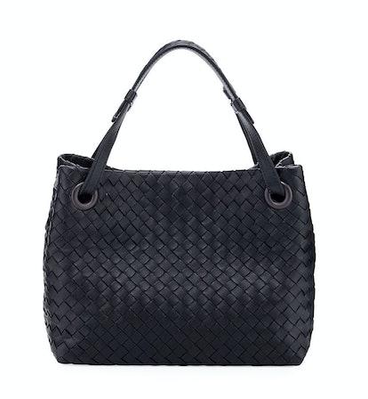 Small Intrecciato Garda Shoulder Bag