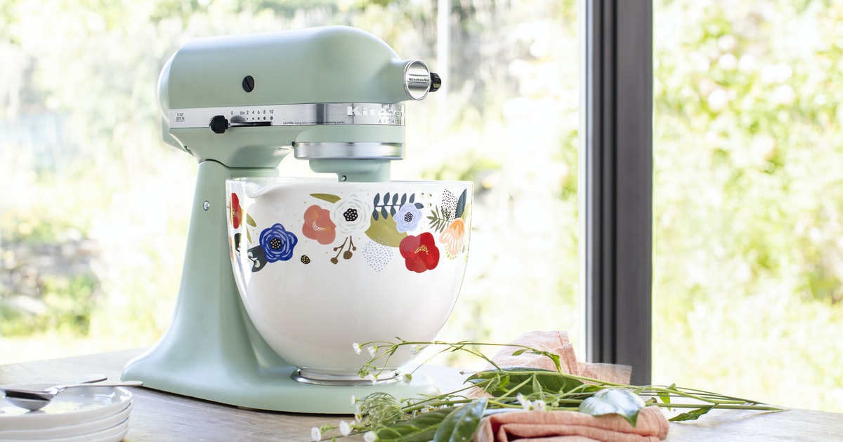 these new kitchenaid stand mixer ceramic bowls feature