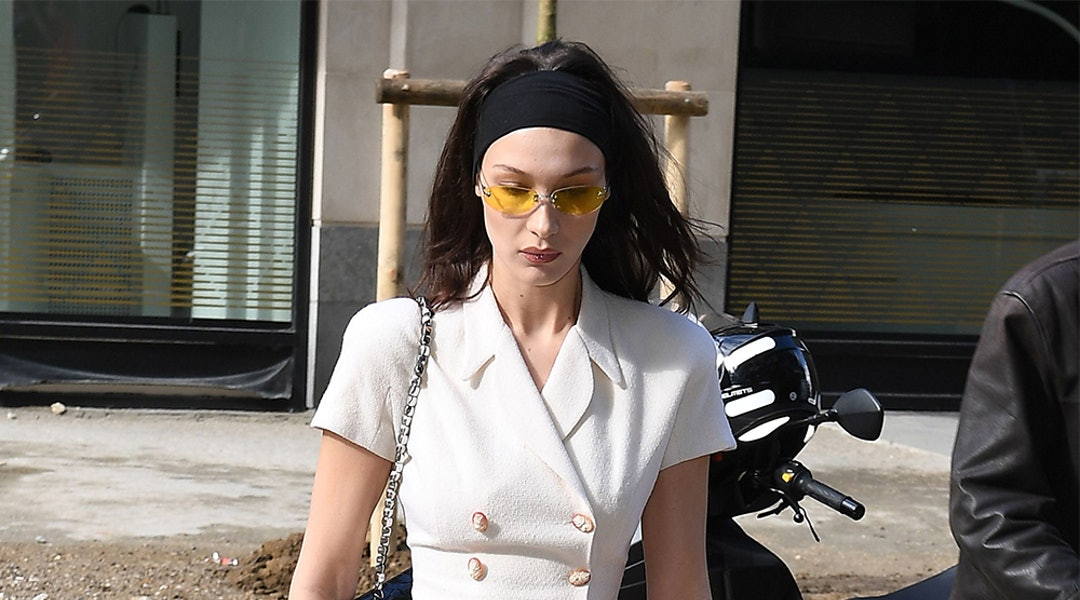 41d3c9519d8a2 Bella Hadid s Sunglasses Are The Ultimate Accessory Inspiration For  Warm-Weather Season
