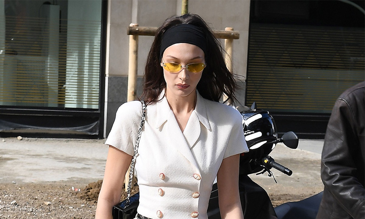 Bella Hadid's Sunglasses Are The Ultimate Accessory Inspiration For Warm-Weather Season