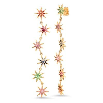 Rainbow Starburst Duster