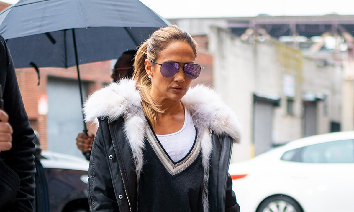 Jennifer Lopez's Blue Jumpsuit Is The Perfect Alternative To Sweats