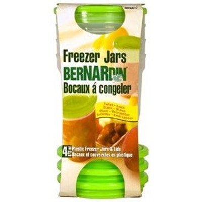 Bernardin Plastic Freezer Jars (4 Pack)
