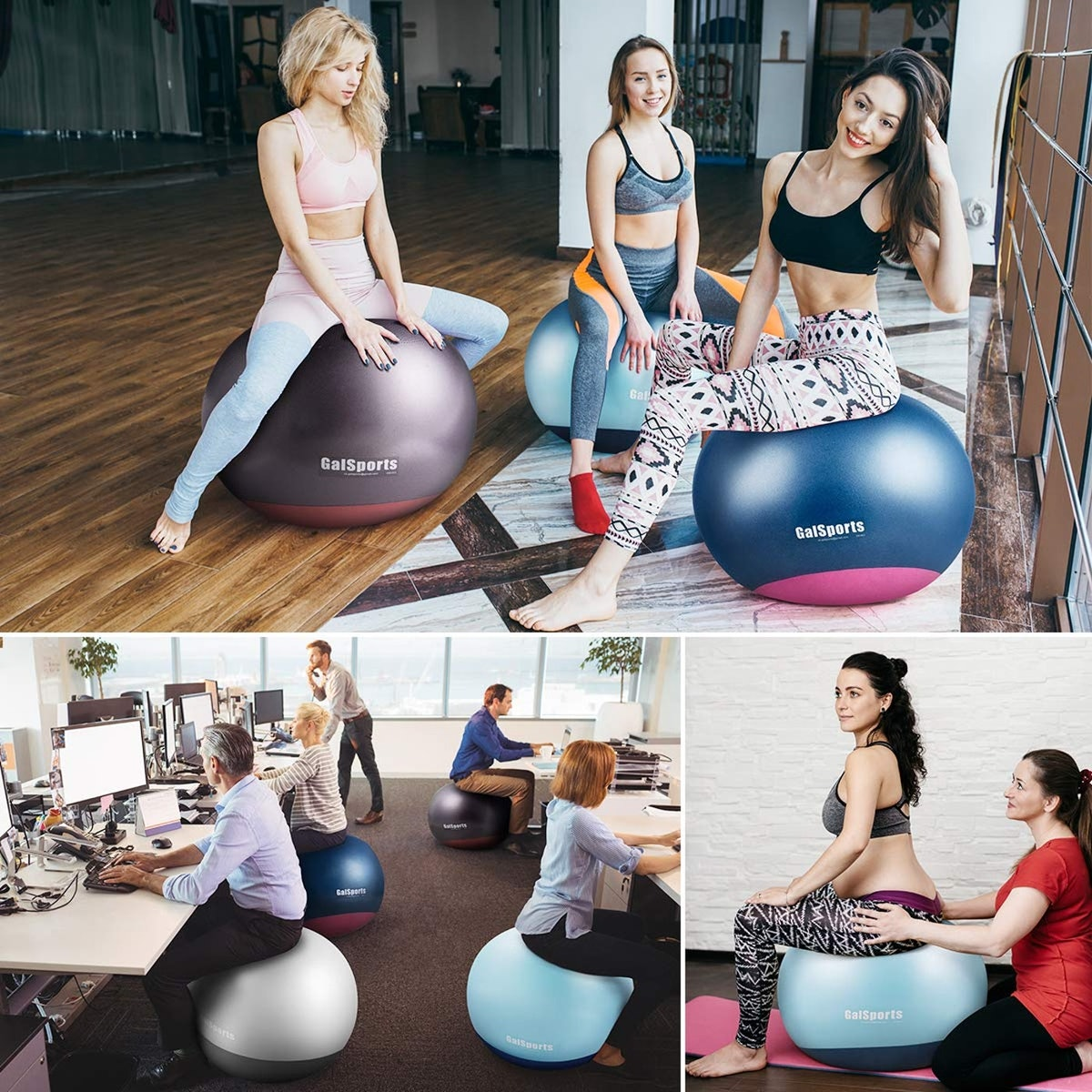 GalSports Tumbler Exercise Ball