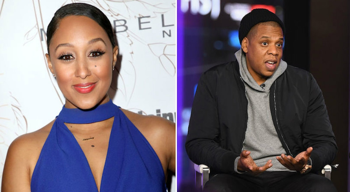 Tamera Mowry Says She Flirted With JAY-Z Years Ago & Now Beyonce Fans Are Freaking Out