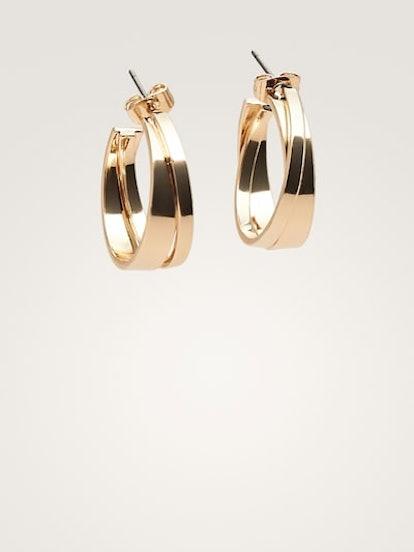 Douple Hoop Earrings