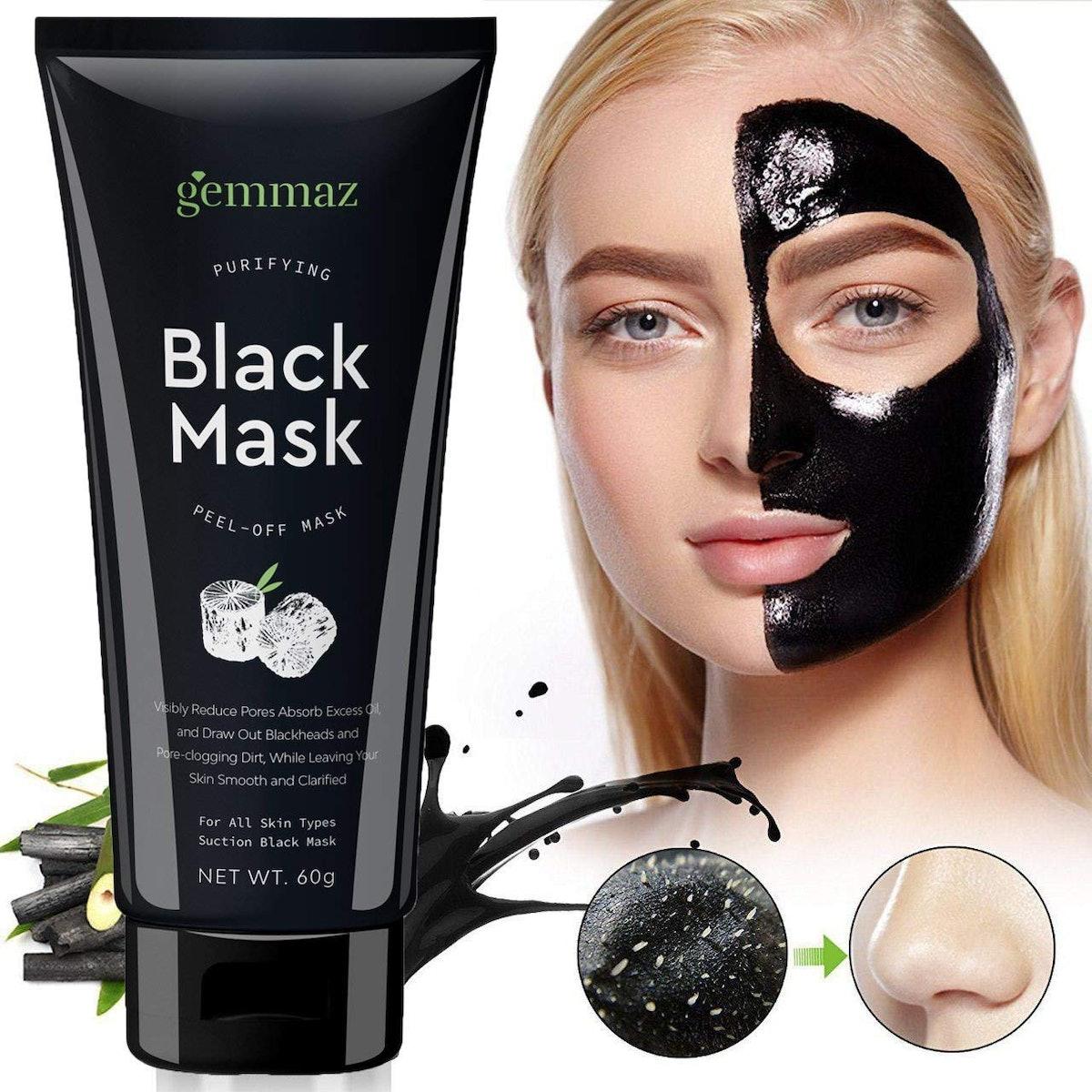 AsaVea Charcoal Black Mask