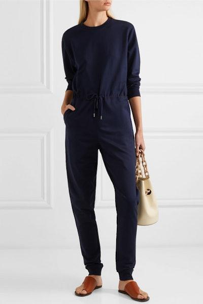 Organic Cotton-Jersey Jumpsuit