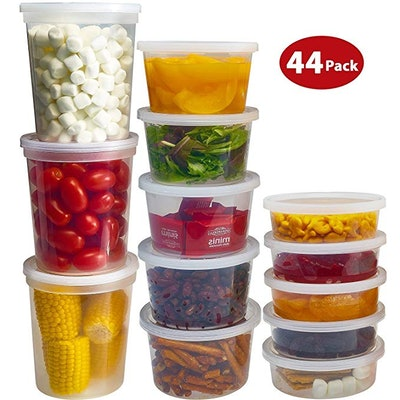 DuraHome Food Storage Containers  (44 Pack)