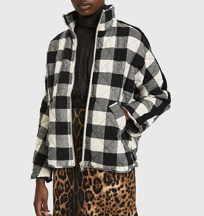 Ayda Quilted Plaid Jacket