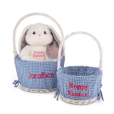 Blue-Lined Easter Baskets