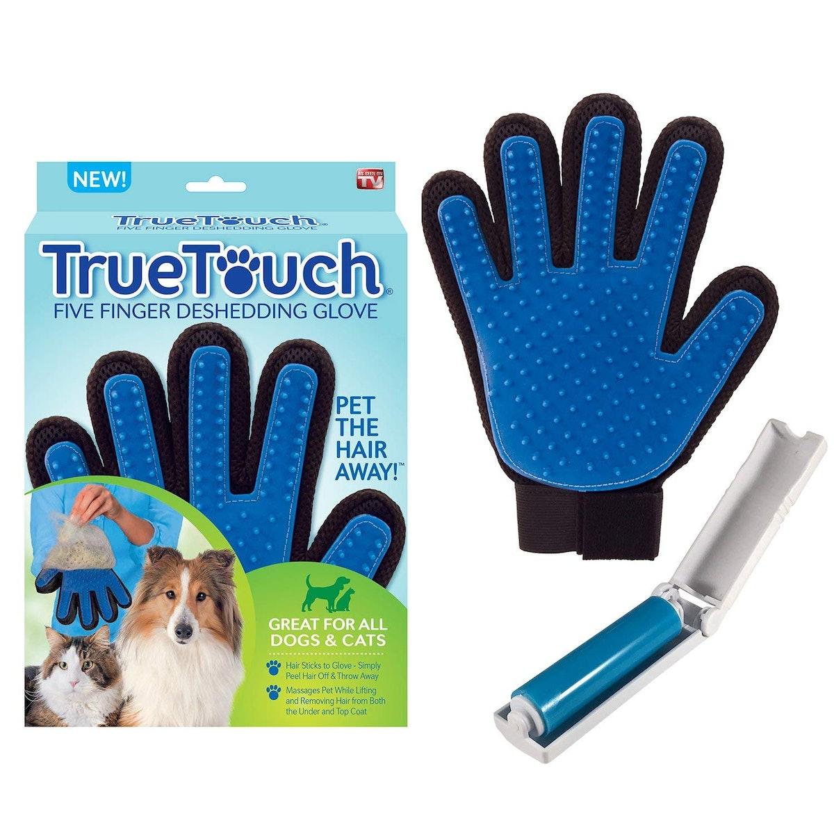 True Touch Pet De-Shedding Glove