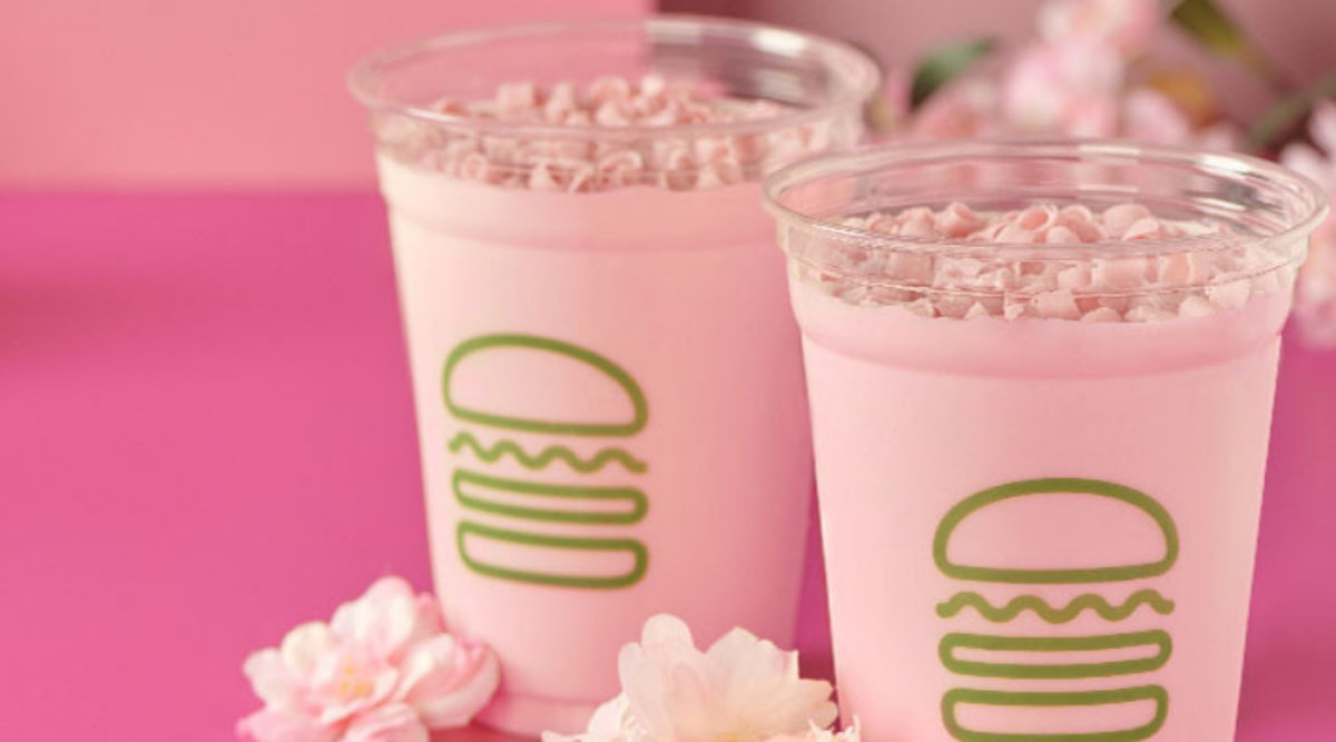 Shake Shack's New Cherry Blossom Shake Is The Prettiest Sip For Spring