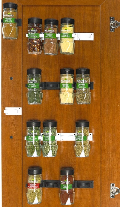 Simple Houseware Spice Cabinet Gripper Clips
