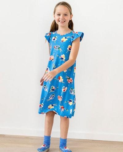Flutter Sleeve Nightgown
