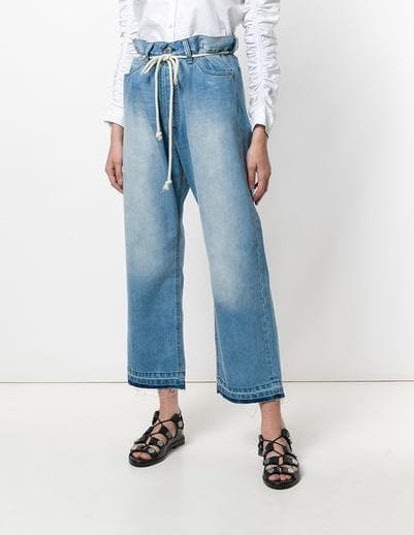 Giant Cropped Jeans