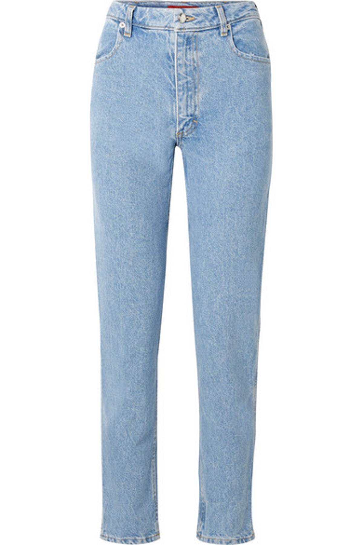 High-Rise Straight Leg Jean