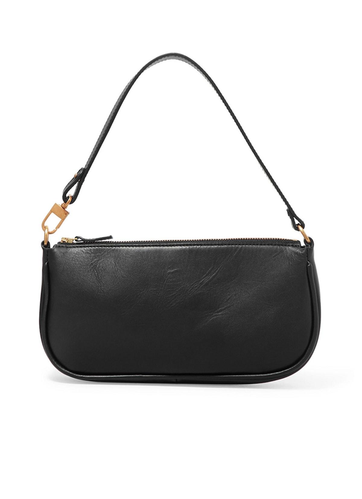 Rachel Leather Shoulder Bag