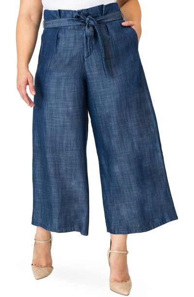 Harper Paperbag Waist Crop Pants