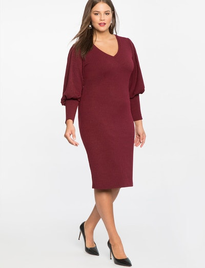 Iconic Puff Sleeve Dress in Port Royale