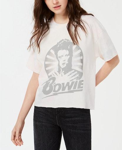 Cotton David-Bowie-Graphic T-Shirt