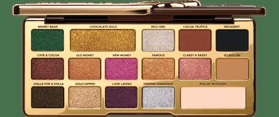Chocolate Gold Metallic/Matte Eyeshadow Palette