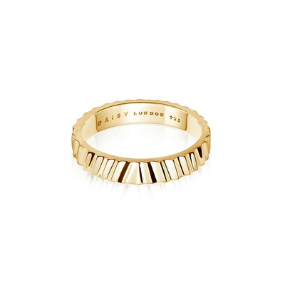 Estee LaLonde Chunky Gold Stacking Ring