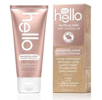 Hello Oral Care SLS-Free Toothpaste, Soothing Mint, 4 Ounces