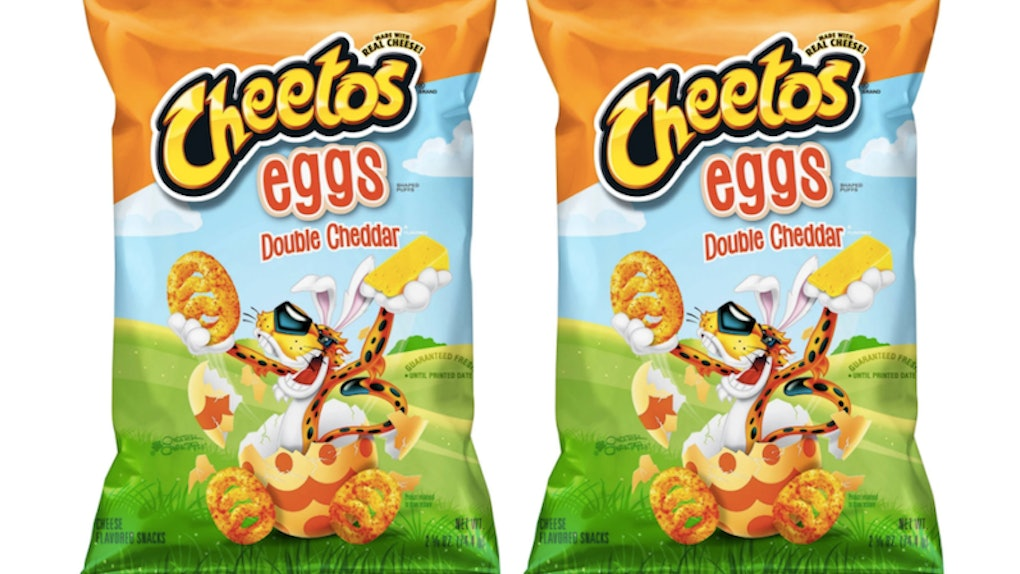 Cheetos easter